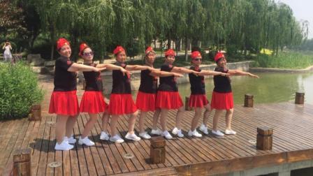 辛集市天宫营舞队水兵舞《红马鞍》