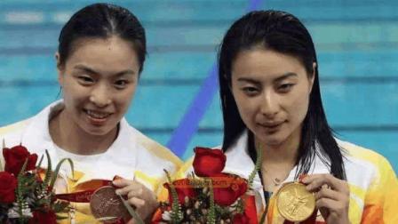 完美组合! 跳水女王郭晶晶和吴敏霞完美表现, 无愧世界第一