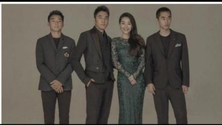 林依轮结婚22周年晒全家福 网友: 儿子帅过爸