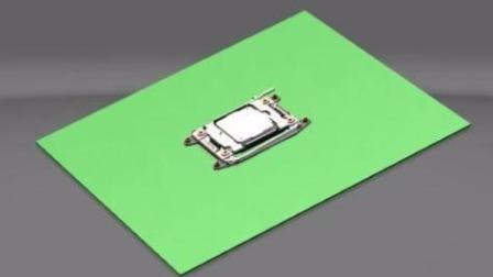 CPU插槽3D拆解.