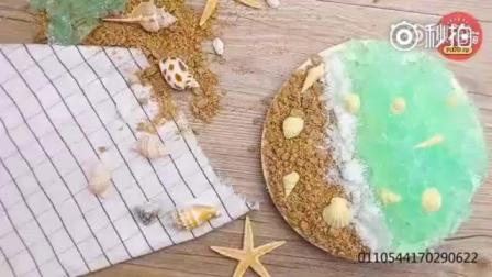 海洋之心冻芝士蛋糕的做法, 满满的都是少女心! 有颜又有味, 身为吃货的你不要错过哦
