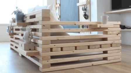 热家居: DIY沙发与货架