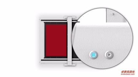 实时工作台分区功能-卓泰克激光SP系列大幅面激光切割机