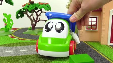 儿童玩具圣诞视频! 装饰车库、儿童玩具车游戏!