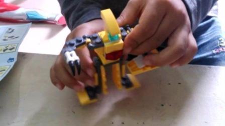 变形金刚玩具总动员 乐高积木玩具小朋友拼装后还特别详解