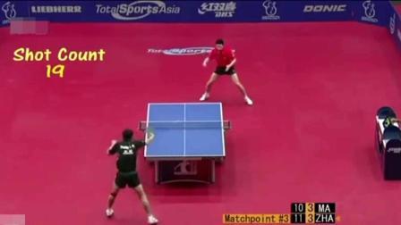 两个中国人打乒乓球, 和科幻片的差距只差两把激光剑, 外国观众都是懵逼的