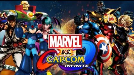 PS4《漫威VS卡普空: 无限》中文游戏漫画英雄大会串试玩实况解说