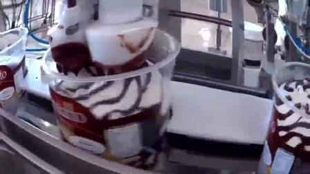 千层冰激凌雪糕机器制作全过程, 隔着屏幕都感觉好酸爽, 强迫症的福音啊