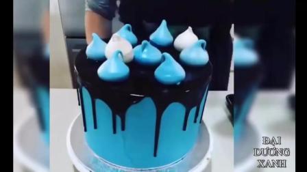 「蛋糕装饰影片」-100个让你看了口水直流的美味蛋糕装饰