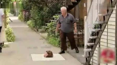 外国街头恶搞路人, 大爷大妈都被玩坏了