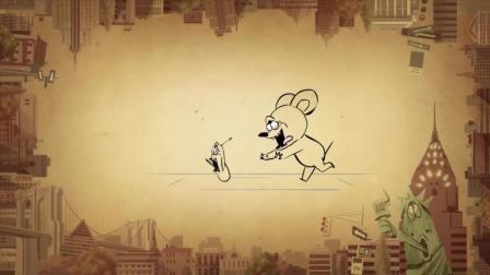 虫子漫画: 老鼠和虫子灵魂互换