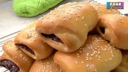 私房美食-自制肉干面包!