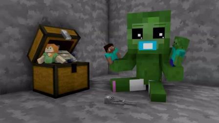 我的世界搞笑动画片, 家有小宝贝