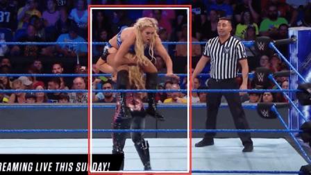 WWE娜塔莉亚VS夏洛特 两大美女激烈对抗