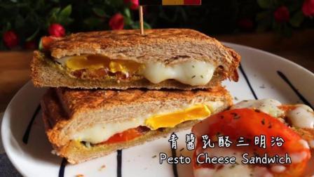 明日早餐: 美味的番茄吐司三明治是妻子给丈夫孩子最好的早餐之一~