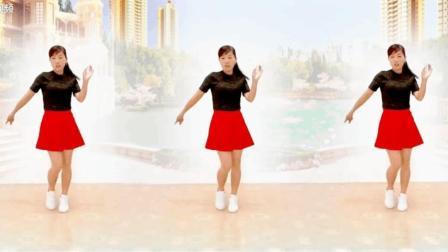 玫香广场舞原创《今夜你又在和谁约会》正背面附口令教学2017最新广场舞