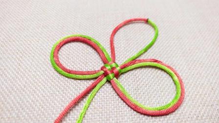 山姐儿手工 中国结编绳基础第36节 绶带结的编织方法
