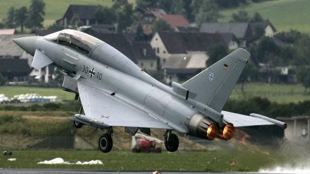 欧洲最强战斗机曾击落过F22 刚从我家大门口飞过