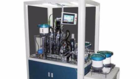 益诚制造接线端子连接器自动组装机