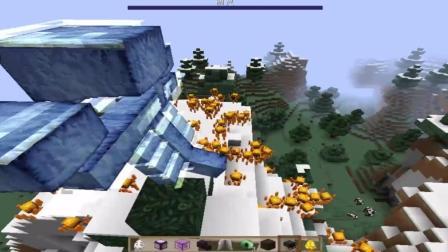 《我的世界》Minecraft: 当一百个与凋零相遇, 会发生些什么呢?