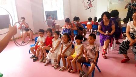 西安儿童魔术培训课程-铁环魔术演示 东郊专业少儿艺术鑫舞曹老师
