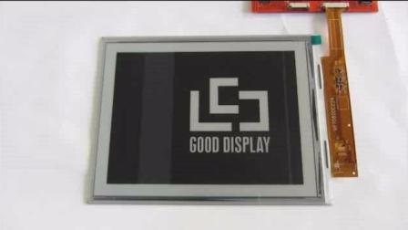 GDE080A1 8寸大尺寸电子纸开发板 电子纸刷新