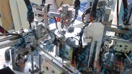 【益诚原创】设计制造机台设备va2弹片铆点机