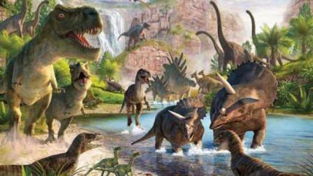 寻找侏罗纪公园 三角龙、剑龙、包头龙、腕龙、异齿龙总动员 恐龙动漫中文版