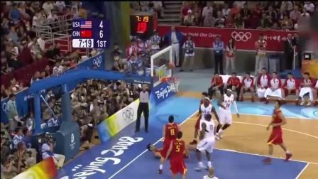 詹姆斯有多恐怖? 姚明勾手不中詹皇抢下篮板一条龙上篮打成2+1只花了3秒