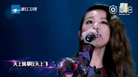 田馥甄翻唱苏打绿无与伦比的美丽时融入了萧敬腾的阿飞的小蝴蝶
