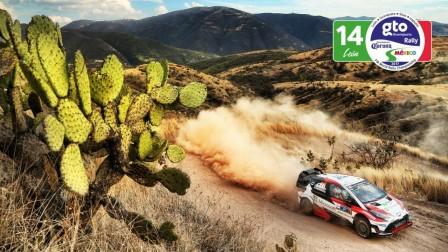 中文解说 WRC 2017赛季 墨西哥站 Day3 精彩集锦
