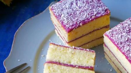 【山药紫薯蛋糕】紫薯是一款低脂低热的减肥食材。山药也具有很好的補钙, 养颜的作用。