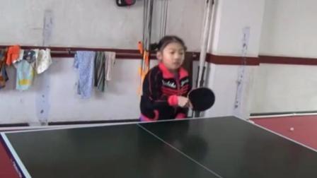 中国乒乓球基础有多可怕, 8岁小女孩都这么强, 外国人是绝望的