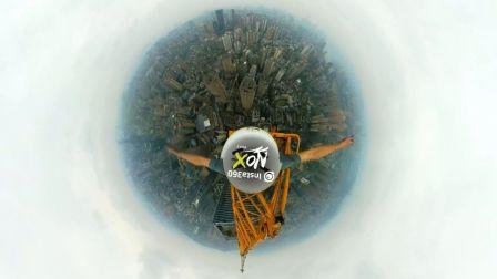 恐高症慎点,360度极限攀爬俯瞰城市