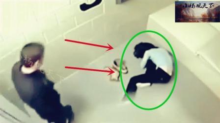 女子被扔进小黑屋之后, 监控拍下罪恶一幕!