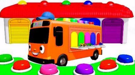 熊出没熊大校车公交车玩具 小猪佩奇米奇巧虎来了