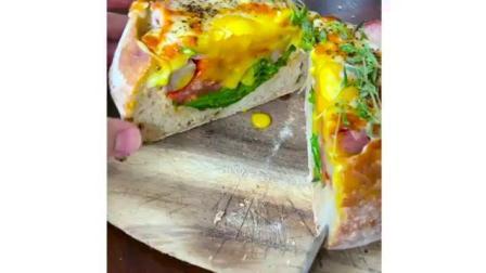 一顿早餐面包堪比大餐!