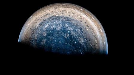 NASA | 4K超高清  来自朱诺号探测器拍摄的木星细节