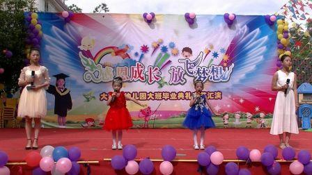 """2017上杭南阳大拇指幼儿园""""感恩成长、放飞梦想""""大班毕业典礼   节目精彩"""