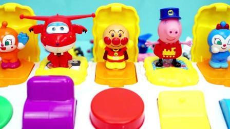 小猪佩奇玩具 粉红猪小妹1 佩佩猪制作雪糕冰淇淋奇趣蛋 彩泥制作棒棒糖巧克力36