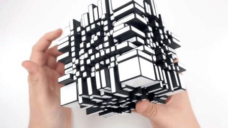 世界纪录  11x11镜面魔方开箱评测