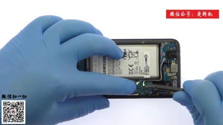 【爱拆机】三星Galaxy S8拆机视频, 曲屏就该这么拆——超清