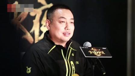 记者: 有人叫你刘月半会不会不高兴, 刘国梁: 我估计就是差不多有点胖的意思