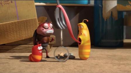 爆笑虫子: 黄虫能堆很高的积木, 因为黄虫的鼻涕特别粘