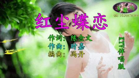 红尘蝶恋(KTV伴唱版)- 安东阳、时嘉