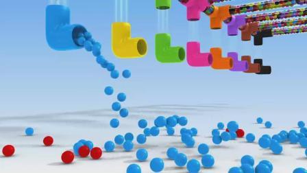 亮亮玩具学习颜色学英语 迪士尼汽车运输车管道彩蛋少儿卡通儿童育儿宝宝益智启蒙教育