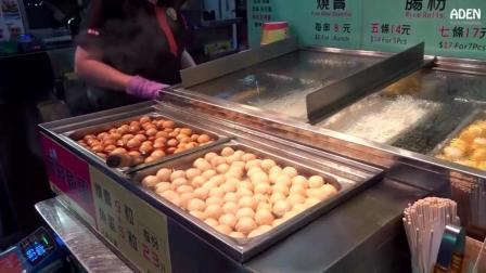 香港街头 牛杂、鱼丸、肠粉、烧腊、卤味 外带冰淇淋车 -