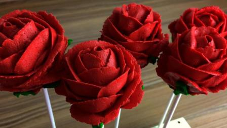 一分钟教你学会做玫瑰花蛋糕, 送女朋友最好的礼物