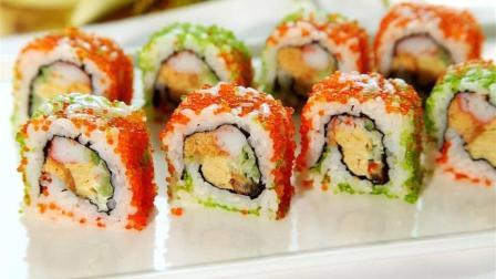 35秒教你做超简易夹心寿司蛋糕