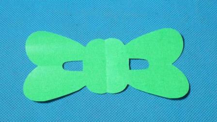 剪纸小课堂473: 蝴蝶结 剪纸教程大全 儿童亲子手工DIY教学 简单剪纸艺术 折纸王子